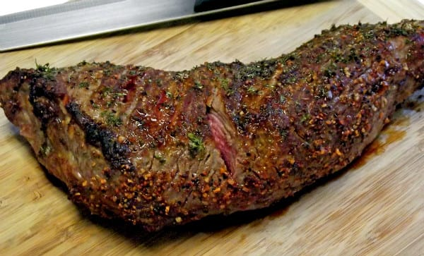 How to make Italian Beef with a Tri tip roast